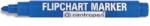 Popisovač na flipcharty Centropen 8550 modrý