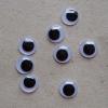 Oči kulaté 8mm-8 ks